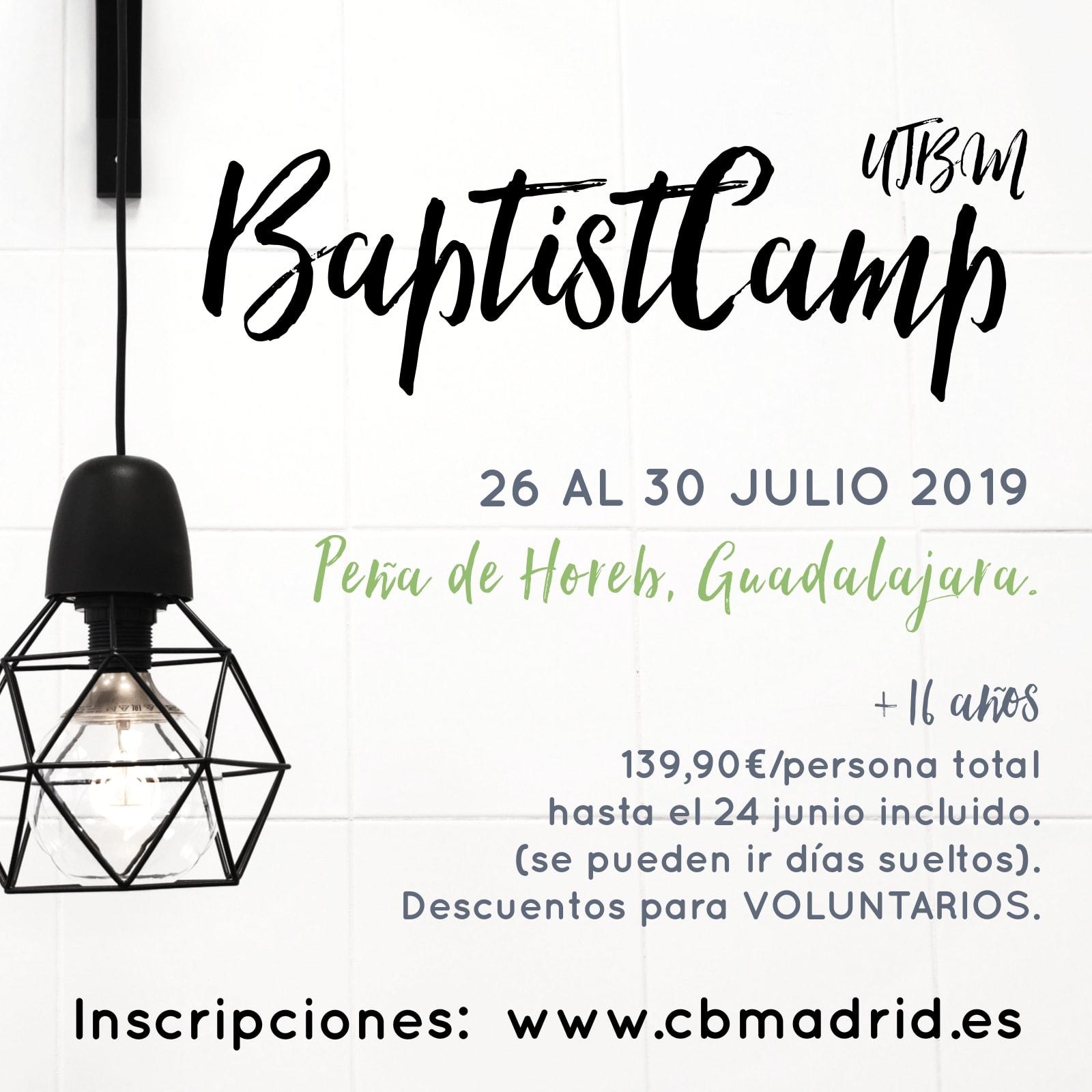 BaptisCamp precio reducido